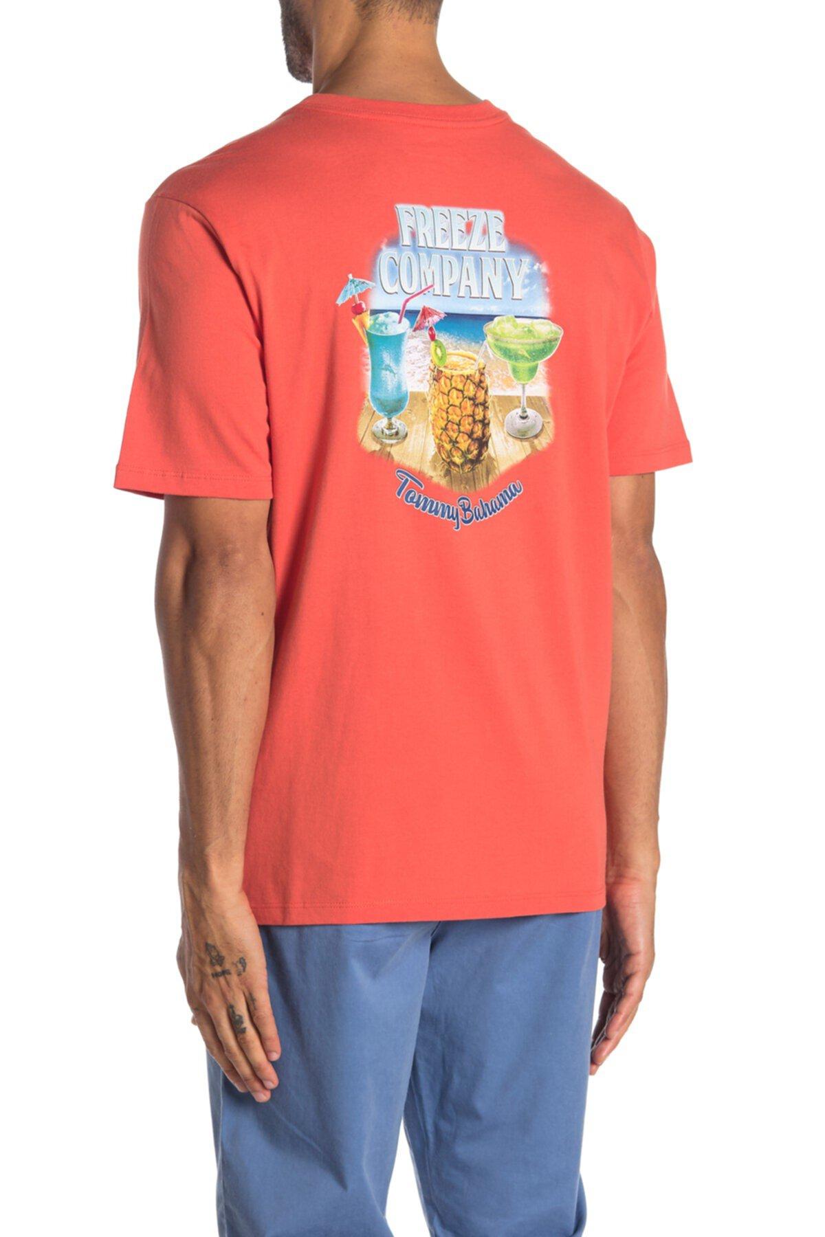 Футболка с надписью Freeze Company Tommy Bahama