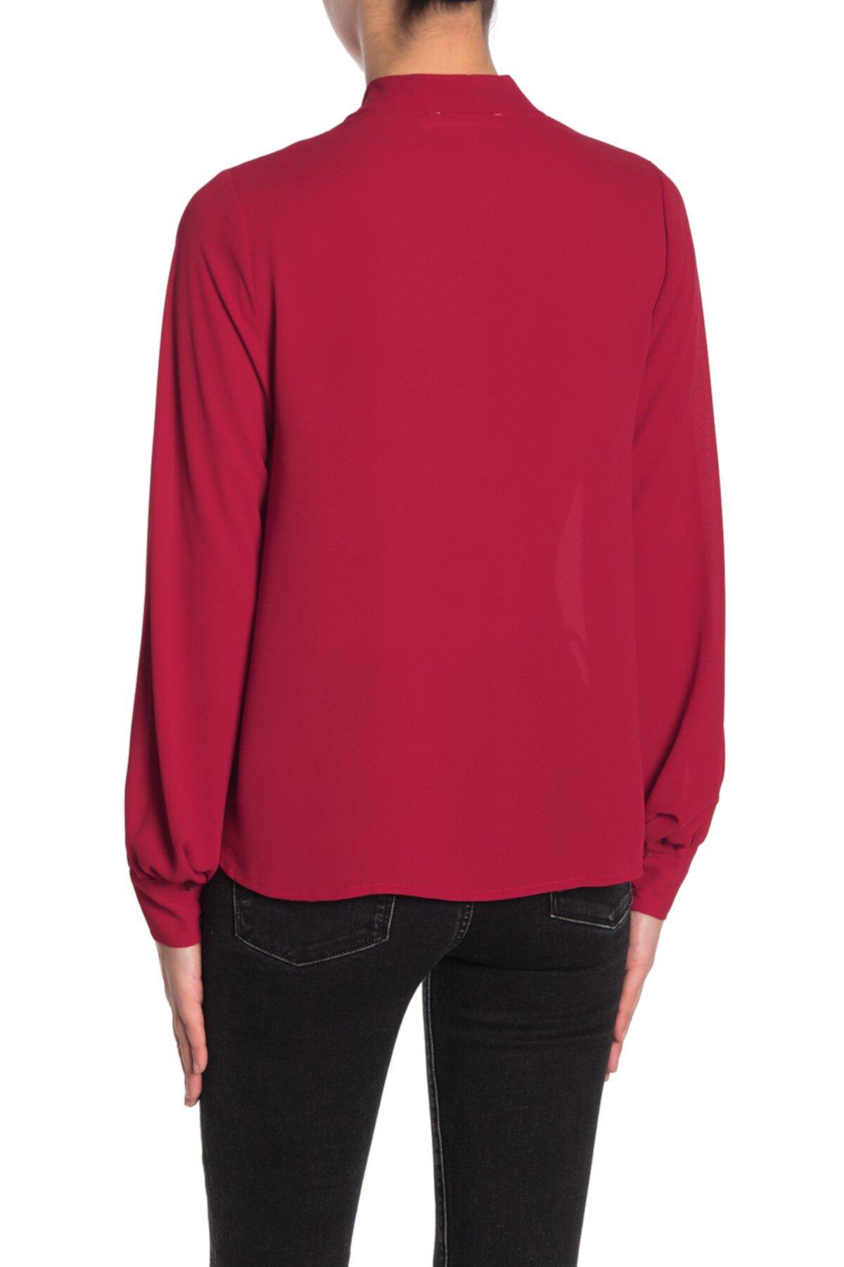 Сплетенная блузка с длинным рукавом Lush