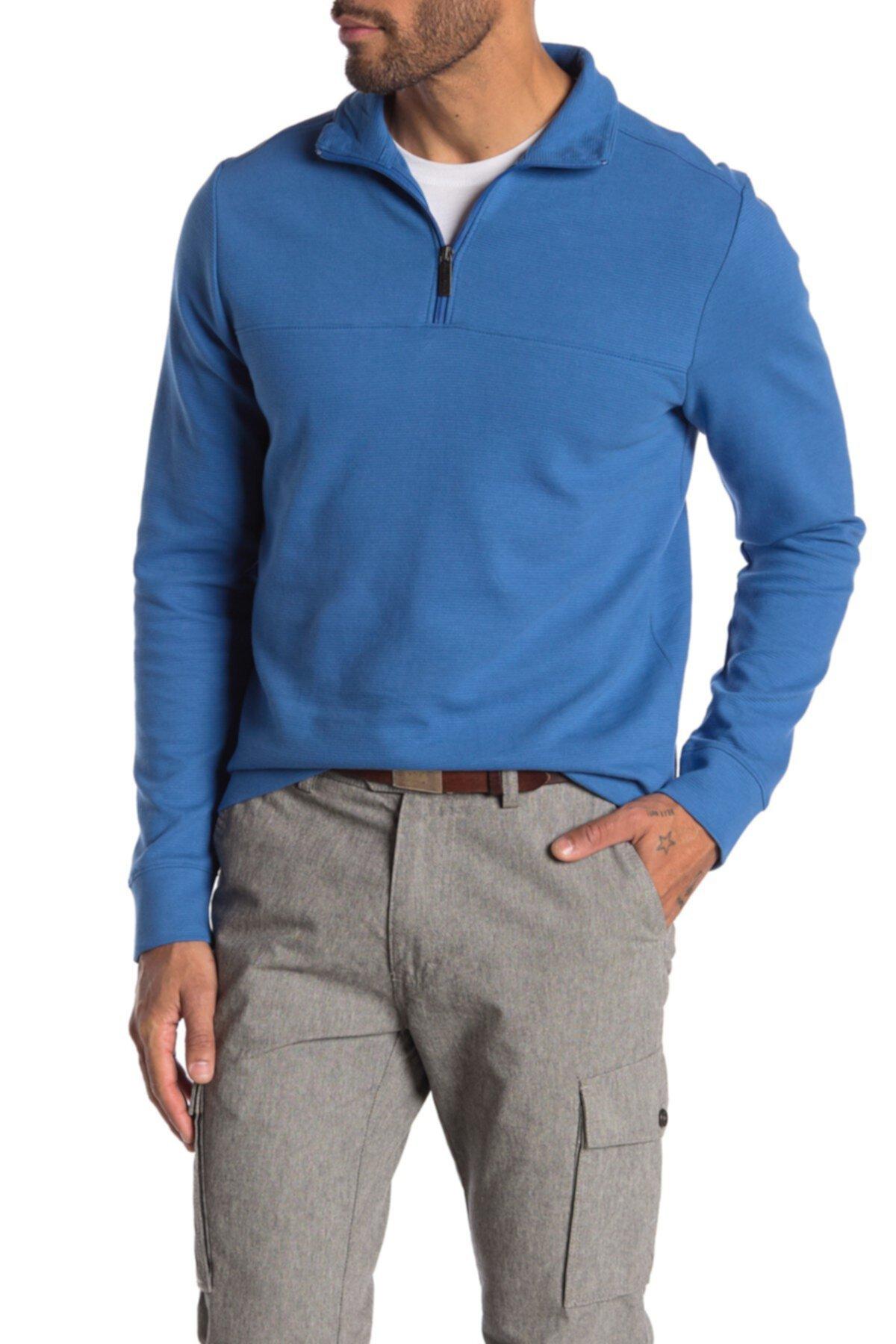 Пуловер с молнией Perry Ellis