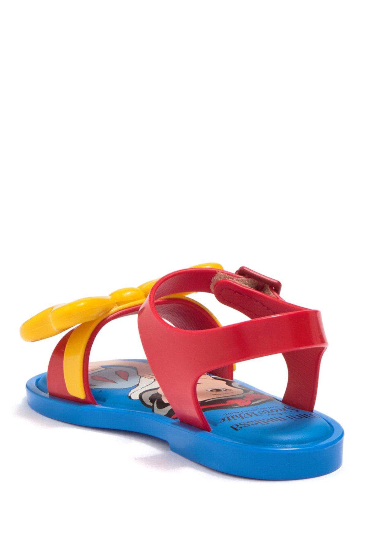 Белоснежные мини-сандалии Disney (для малышей) Mini Melissa
