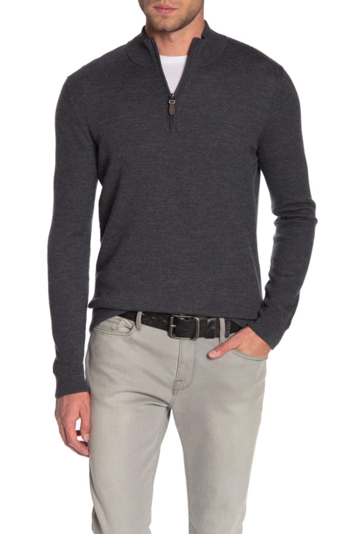 Твердый вязаный свитер сота Raffi