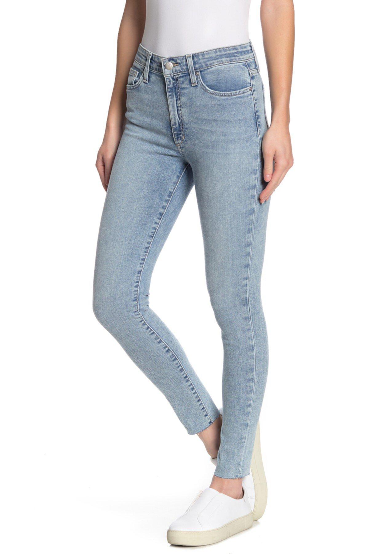 Джинсы скинни скинни с высокой посадкой Joe's Jeans