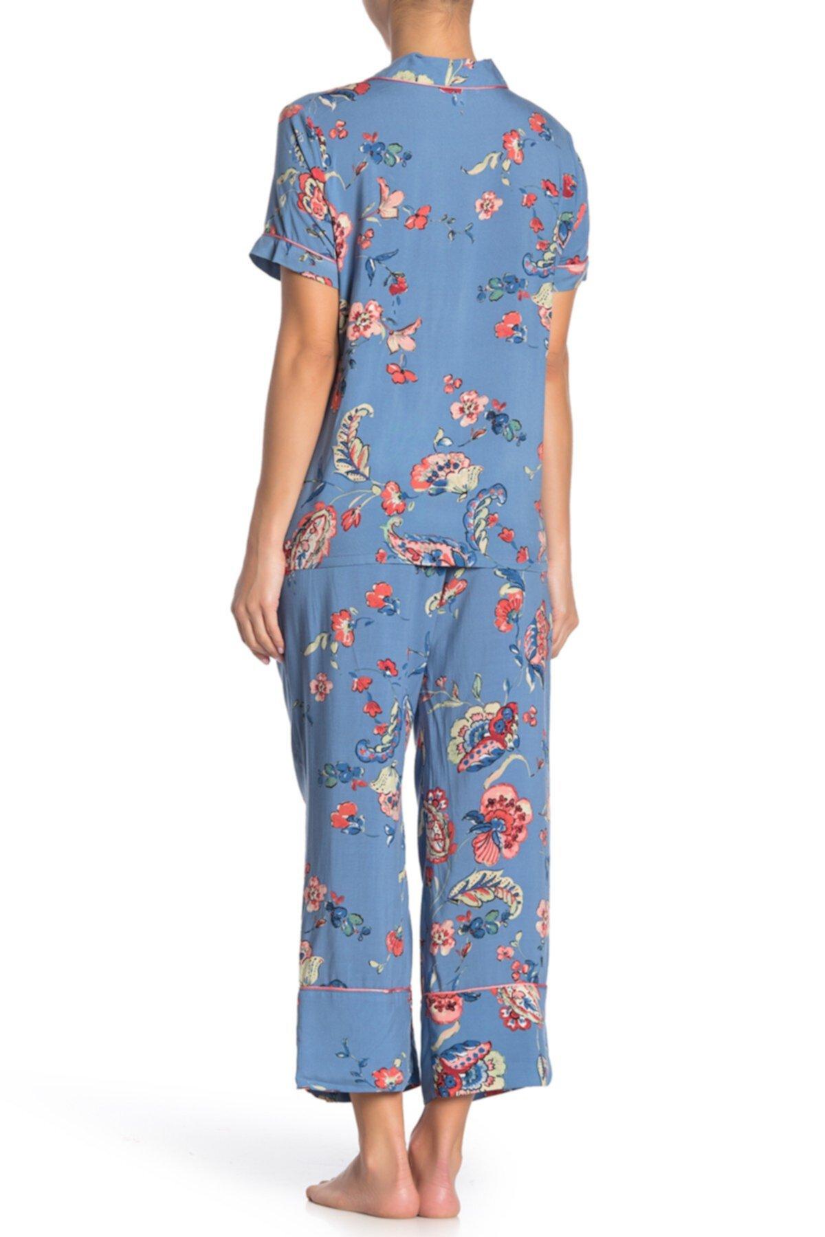 Пижамный комплект с коротким рукавом In Bloom by Jonquil