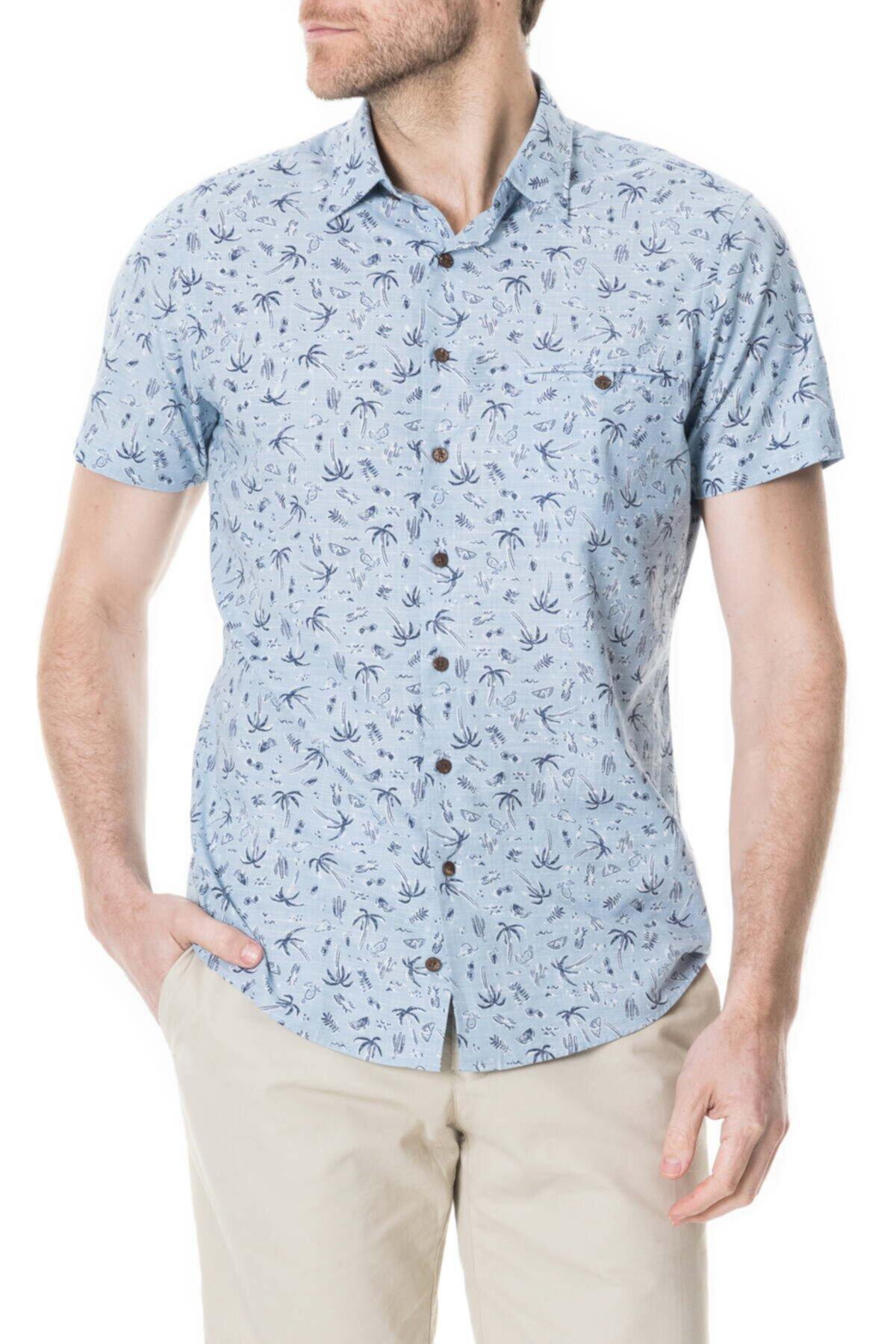 Рубашка с принтом Urquharts RODD AND GUNN