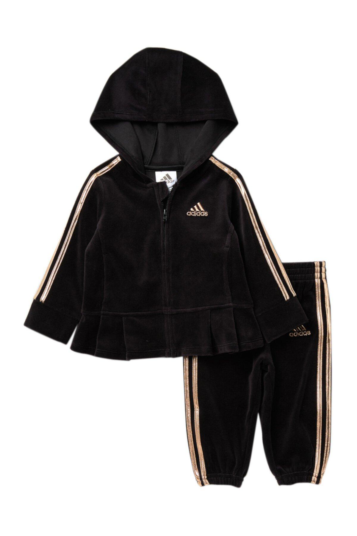 Жакет с капюшоном и поты (для девочек) Adidas