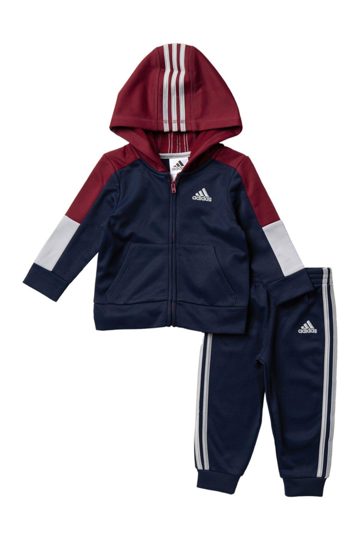 Флисовая куртка с капюшоном (Baby Boys) Adidas