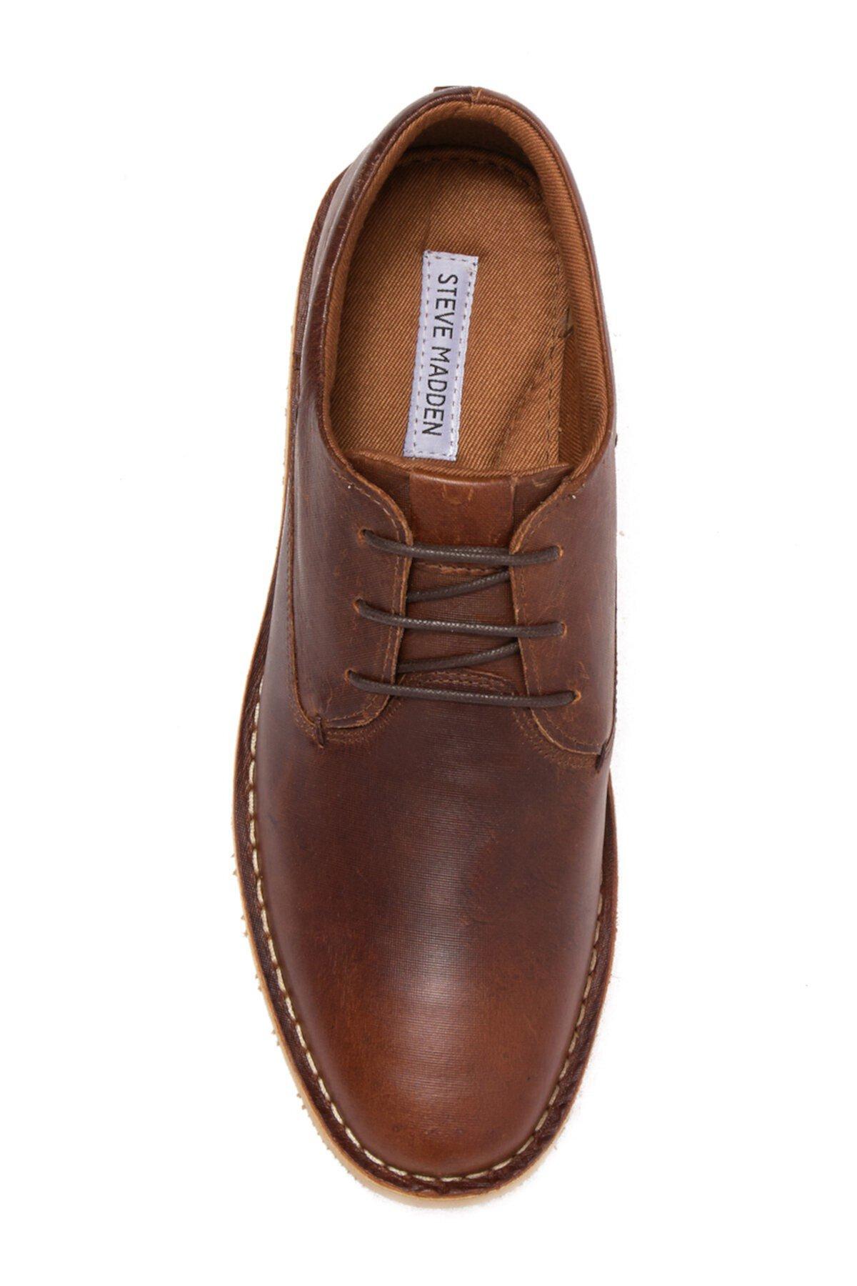 Кожаная обувь на шнуровке Pallot Steve Madden