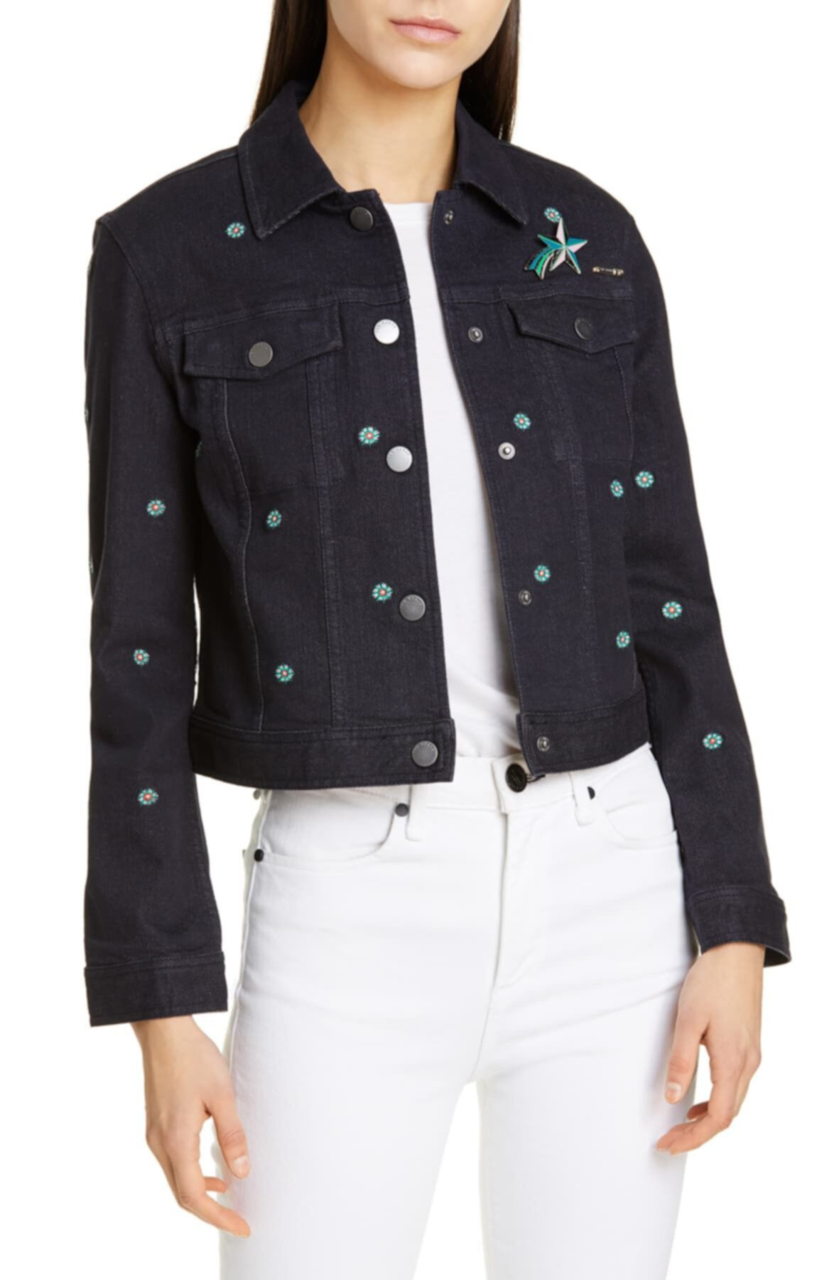 Купить джинсовку Джинсовая куртка Cavca цвета по номерам ...